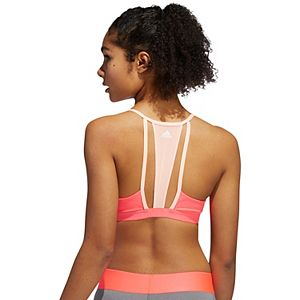 Women's adidas All Me 3-Stripe Mesh Low Impact Sports Bra