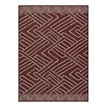 SONOMA Goods for Life® Border Geo Indoor/Outdoor Area and Throw Rug