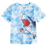 Toddler Boy Jumping Beans® Patriotic Shark Tie-Dyed Graphic Tee