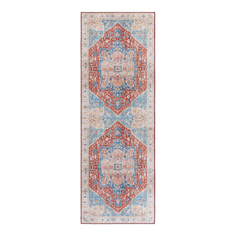 Decor 140 Rudy Bohemian Area Rug, Red, 7.5X9.5 Ft