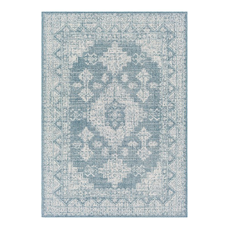 Decor 140 Geoffrey Boheiman Denim Area Rug, Blue, 8X10 Ft