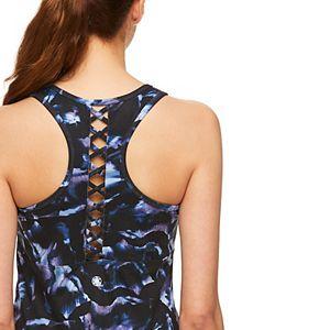 Women's Gaiam Strappy-Back Tie-Dye Tank
