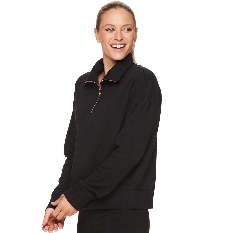 Women's Gaiam Aura Mockneck Pullover