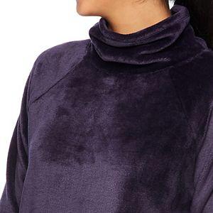 Women's Gaiam Lux Faux-Fur Cowlneck Top