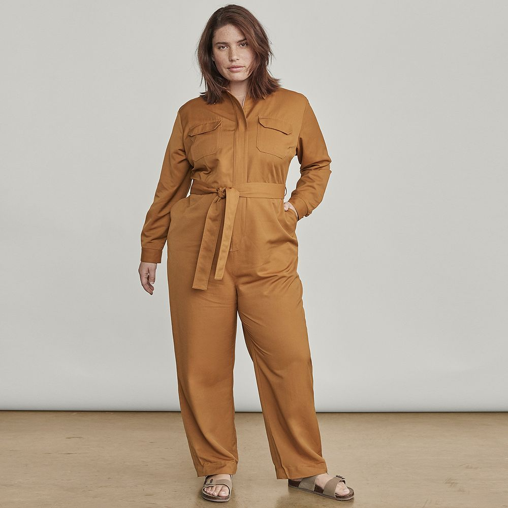Plus Size Elizabeth and James Utility Jumpsuit