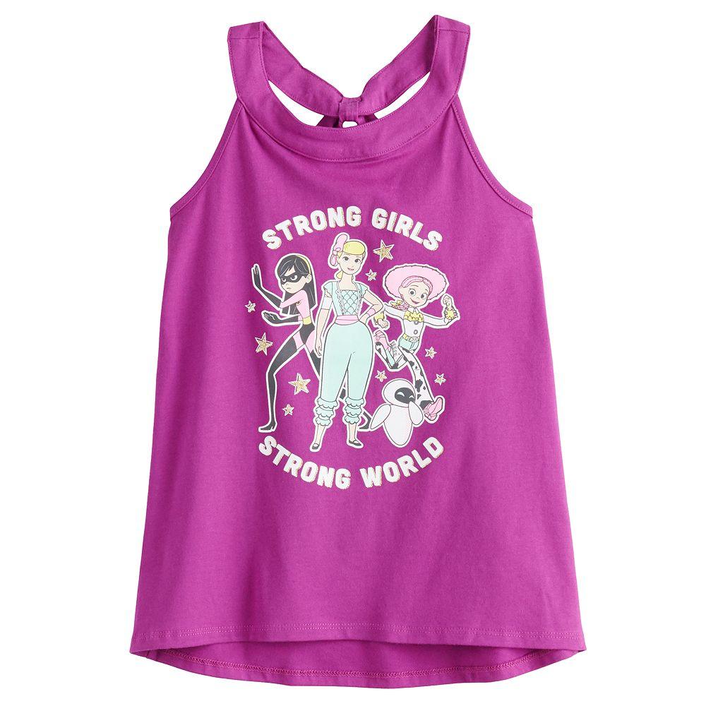 Disney / Pixar Toy Story Girls 4-12 Racerback Tank by Jumping Beans®