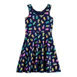 Girls 4-12 Jumping Beans® Print Skater Dress