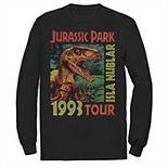 Men's Jusrassic Park Isla Nublar 1993 Tour Poster Tee