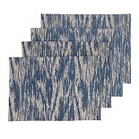 Scott Living Indigo Shine Placemat 4-pk.