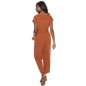 Women's Apt. 9® Dolman-Sleeve Utility Jumpsuit