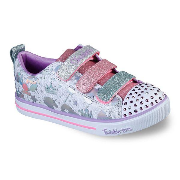 palma Izar gris  Skechers® Twinkle Toes Sparkle Lite Sparkleland Girls' Light Up Shoes