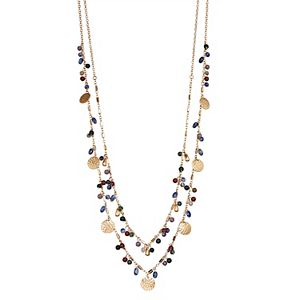 Sonoma Goods For Life® Beaded Layered Necklace