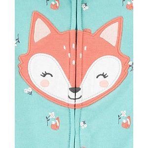 Baby Girl Carter's 3-Piece Fox Little Jacket, Pants & Bodysuit Set