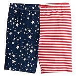 Toddler Girl Jumping Beans® Stars & Stripes Bike Shorts