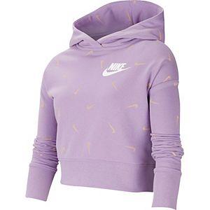 Girls 7-16 Nike Cropped Pullover Hoodie