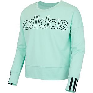 Girls 7-16 adidas Three Stripe Sweatshirt