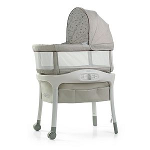 Graco Sense2Snooze Bassinet with Cry Detection Technology
