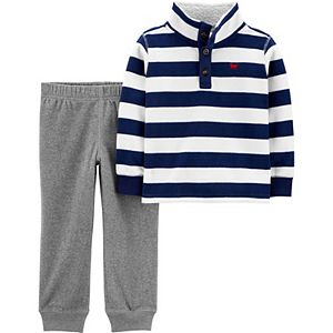 Baby Boy Carter's Fleece Pullover & Jogger Pants Set