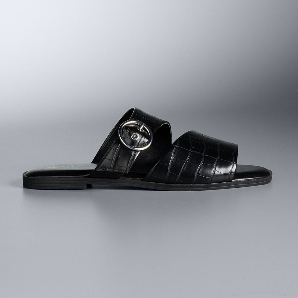 Simply Vera Vera Wang Grosbeak Women's Slide Sandals