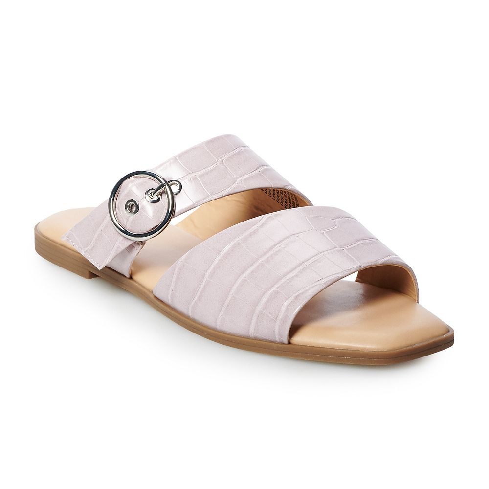 Simply Vera Vera Wang Grosbeak Women's Slide Sandals