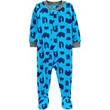 Toddler Boy Carter's 1-Piece Woodland Critter Pajamas