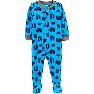 Toddler Boy Carter's 1-Piece Woodland Critter Pajamas