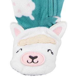 Toddler Carter's Sheep Fleece Footed Pajamas