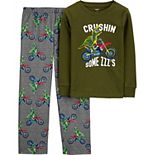 Boys 4-14 Carter's 2-Piece Fleece Snug Fit Pajamas