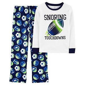 Boys 4-14 Carter's 2-Piece Fleece Snug Fit Pajamas