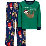Boys 4-14 Carter's Christmas Pajama Set