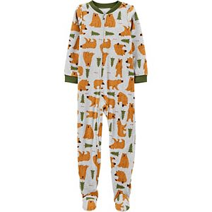 Boys 4-14 Carter's 1-Piece Fleece Footie Pajamas