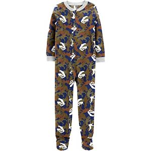 Boys 4-14 Carter's 1-Piece Fleece Footie Pajamas