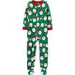 Boys 4-14 Carter's 1-Piece Christmas Footie Pajamas