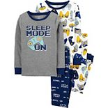 Boys 4-14 Carter's 4-Piece Snug-Fit Pajama Set