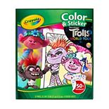DreamWorks Trolls World Tour Color & Sticker Activity by Crayola