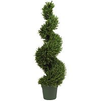 nearly natural 4-ft. Silk Spiral Rosemary Tree