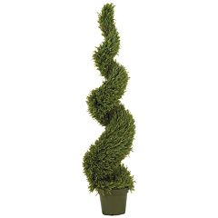 nearly natural 5-ft. Silk Spiral Rosemary Tree