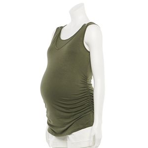 Maternity a:glow? Snap Shoulder Nursing Tank