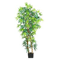 nearly natural 5-ft. Silk Fancy Bamboo Tree