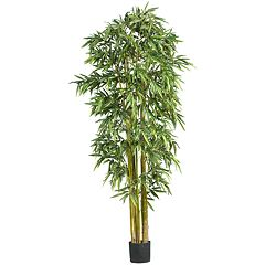 nearly natural 7-ft. Silk Biggy Bamboo Tree