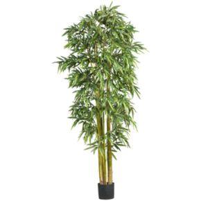 nearly natural 7-ft. Silk Biggy Bamboo Tree