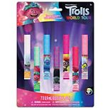 DreamWorks Trolls 7-Pack Flavored Lip Gloss Set
