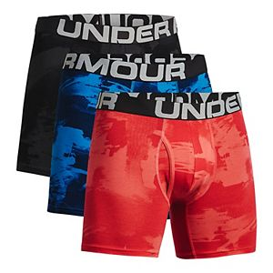 Men's Under Armour 3-pack Charged Cotton® Novelty 6-inch Boxerjock® Boxer Briefs