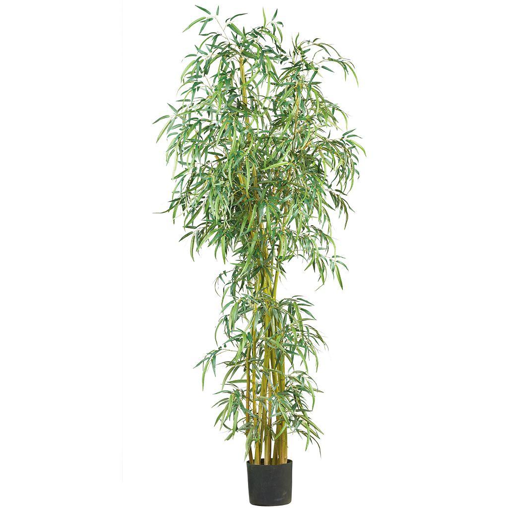 nearly natural 7-ft. SilkFancy Slim Bamboo Tree