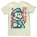 Men's Nintendo Smb3 Kanji Bro Graphic Tee