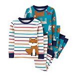 Toddler Boy Carter's 4-Piece Snug Fit Cotton PJs