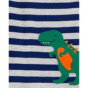 Toddler Boy Carter's 4-Piece Dinosaur Snug Fit Cotton Pajamas