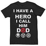 Men's Marvel Call Him Dad Graphic Tee