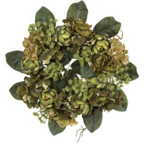 nearly natural Silk Artichoke Wreath