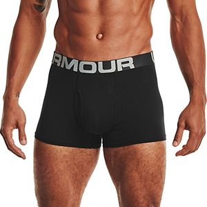 Men's Under Armour 3-pack Charged Cotton® Stretch 3-inch Boxerjock® Boxer Briefs